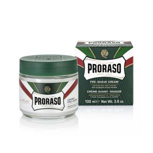 Crema Pre Afeitado Mentol 100ml Proraso -Barba y bigote -Proraso