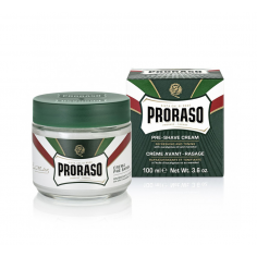 Proraso Menthol Pre Shave Cream 100ml -Beard and mustache -Proraso