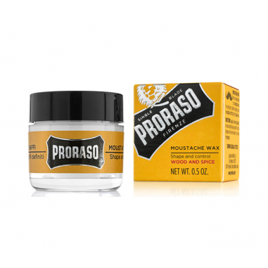Wood and Spices Mustache Wax 15ml Proraso -Beard and mustache -Proraso