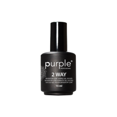 Esmalte Gel Base&Top 2 Way 15ml Purple