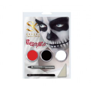 Kit de Maquillaje de Esqueleto -Fantasía y FX -Skarel