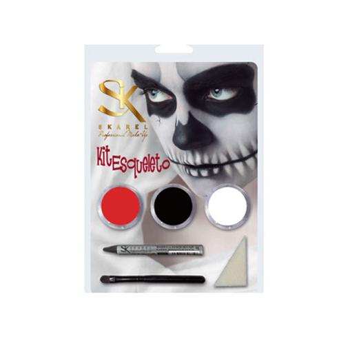 Skeleton Makeup Kit -Fantasy and FX -Skarel