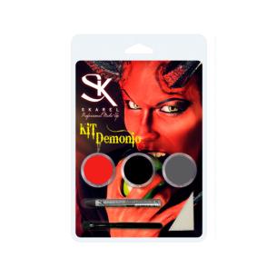 Kit Maquillaje Demonio -Fantasía y FX -Skarel
