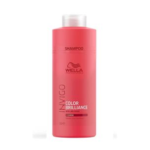 Champú Wella Invigo Brilliance cabello grueso 1L -Shampoos -Wella