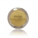 Polvo iluminador compacto Shiny Gold Evolux