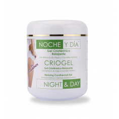 Cryogel Relaxing Cryothermic Gel 500ml Night & Day -Toning and shaping creams -Noche & Día