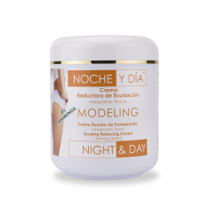 Crema Reductora Exudación Modeling 500ml Noche & D -Cremas tonificantes y moldeadoras -Noche & Día
