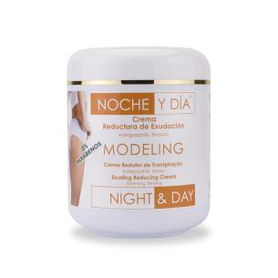 Crema Reductora Exudación Modeling 500ml Noche & D -Toning and shaping creams -Noche & Día