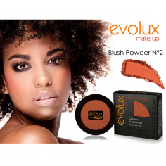 Colorete compacto Evolux Blush Nº2