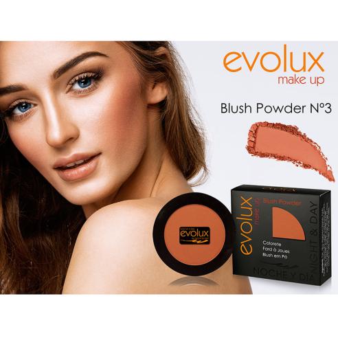 Colorete compacto Evolux Blush Nº3