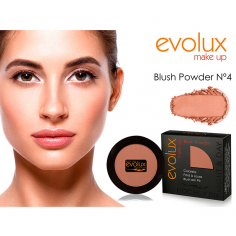 Colorete compacto Evolux Blush Nº4