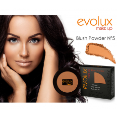Colorete compacto Evolux Blush Nº5