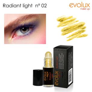 Iluminador cara y cuerpo Radiant Light Evolux Nº2 -Cara -Evolux Make Up