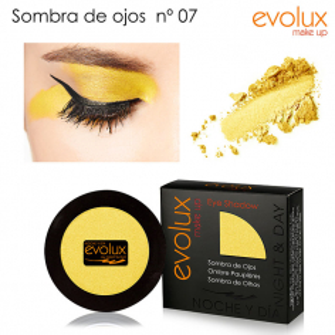 Sombra de ojos Evolux Nº7 -Ojos -Evolux Make Up