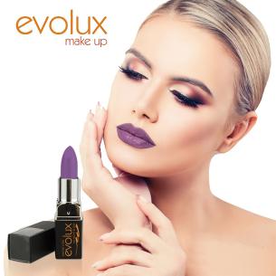 Evolux # 20 Gloss lipstick -Lips -Evolux Make Up