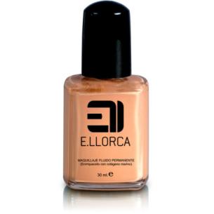 Permanent Fluid Makeup 4 Llorca -Face -Elisabeth Llorca