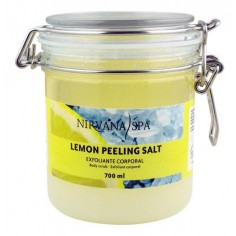 Nirvana Lemon and Salt Peeling 500ml -Scrubs -Nirvana Spa