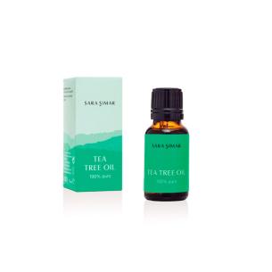 Aceite Árbol de Té 100% Puro Sara Simar 15 ml -Cremas y serums -Sara Simar