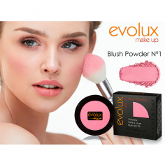 Colorete compacto Evolux Blush Nº1