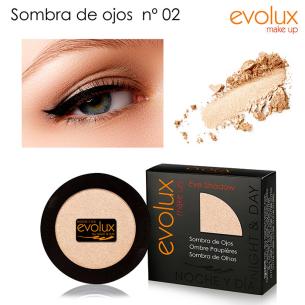 Sombra de ojos Evolux Nº2 -Olhos -Evolux Make Up
