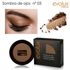 Sombra de ojos Evolux Nº3 -Eyes -Evolux Make Up