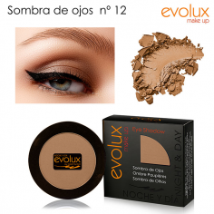 Sombra de ojos Evolux Nº12 -Ojos -Evolux Make Up