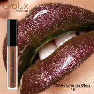 Brillo de Labios Voluminizador Evolux Nº10\r\n -Labios -Evolux Make Up