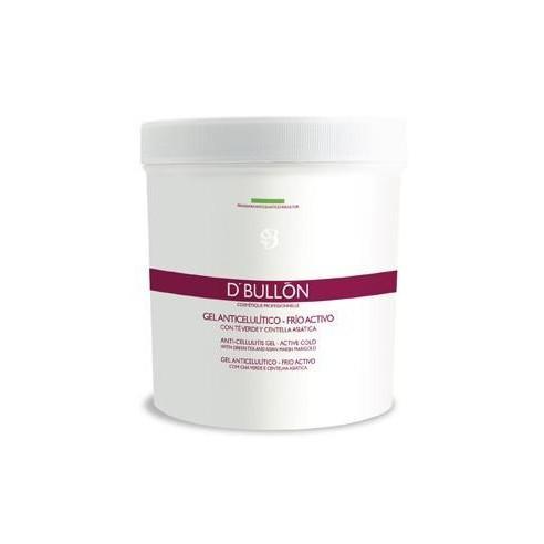 Gel Anticelulítico Frío Activo 500 ml -Cremas tonificantes y moldeadoras -D'Bullón