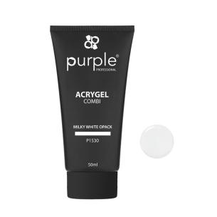 Acrygel Milky White Opack 50ml Purple