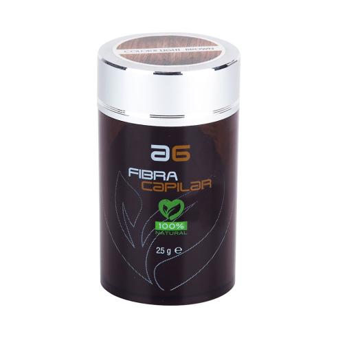 Hair fiber 25g Medium Brown AG -Hair fibers -AG