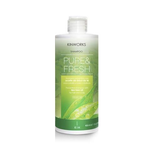 Champú Árbol de Té Pure&Fresh Kin 400 ml