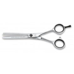 """Tijera peluquero azabache ES 5.5"""" -Tijeras y Navajas de peluquería -3 Claveles"""