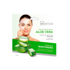Mascarilla Facial Aloe Vera IDC INSTITUTE