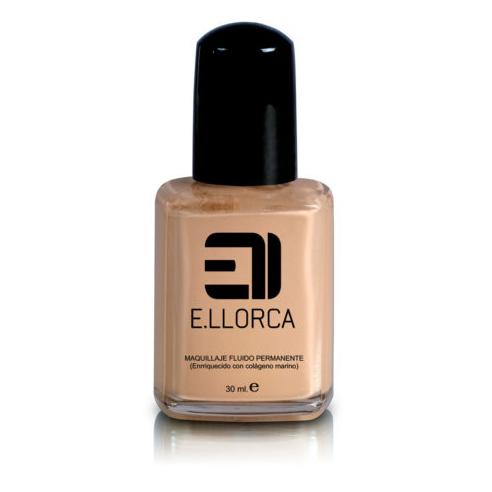 Maquillaje Fluido Permanente 3 Llorca -Cara -Elisabeth Llorca
