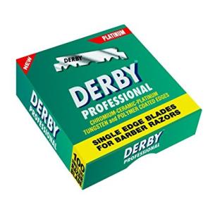 Hoja Derby caja 100 servicios -Hairdressing disposables -Giubra