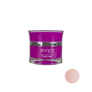 Polvo Acrílico Queen Fluffy Pink Purple 30g -Uñas de gel y acrílico -Purple Professional