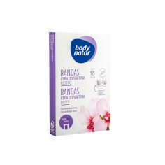 Body Natur Facial Depilatory Wax Bands -Waxing -Body Natur