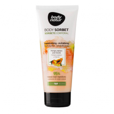 Sorbete Corporal Mango y Papaya Body Natur 200ml -Hydrating creams -
