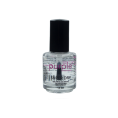 Secante de uñas Super Dry Purple 15ml -Tratamientos para uñas y quitaesmaltes -Purple Professional