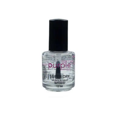 Secante de uñas Super Dry Purple 15ml -Accesorios manicura y pedicura -Purple Professional
