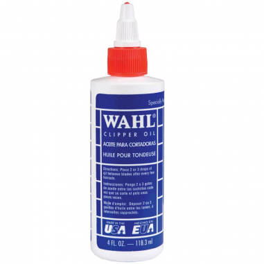 Wahl Hair Clipper Oil 118 ml -Combs, guides and accessories -Wahl