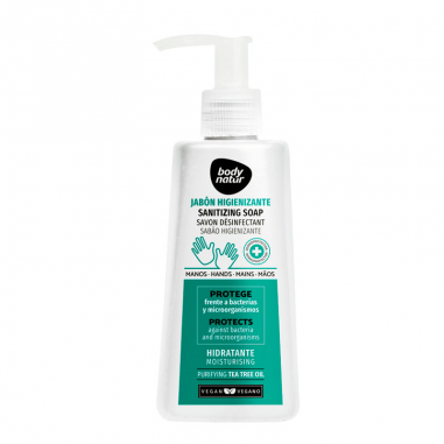 Jabón de manos Higienizante Body Natur 200ml -Especial -Body Natur