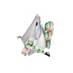 Tropical Pack Travel Dryer + Brush + LIM Bag -Hair dryers -Lim