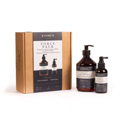 Pack anticaida Kinmen Force Champú + Tónico -Packs de productos de barbería -Kin Cosmetics