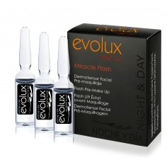 Ampollas Flash dermo-tensor facial -Make-up removers, bases and make-up fixers -Evolux Make Up