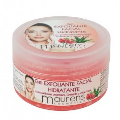 Gel Exfoliante facial Hidratante con partículas de -Masks and scrubs -Maurens