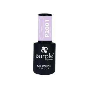 Gel Polish Sweet Doll Purple Nº2001 -Semi permanent enamel -Purple Professional