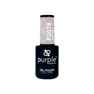 Dance Rumba 2078 Purple gel polish -Semi permanent enamel -Purple Professional