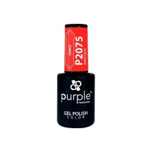 Dance Salsa 2075 Purple gel polish -Semi permanent enamel -Purple Professional