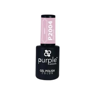 Esmalte Gel Sweet Baby Purple Nº2004 -Esmalte semi permanente -Purple Professional